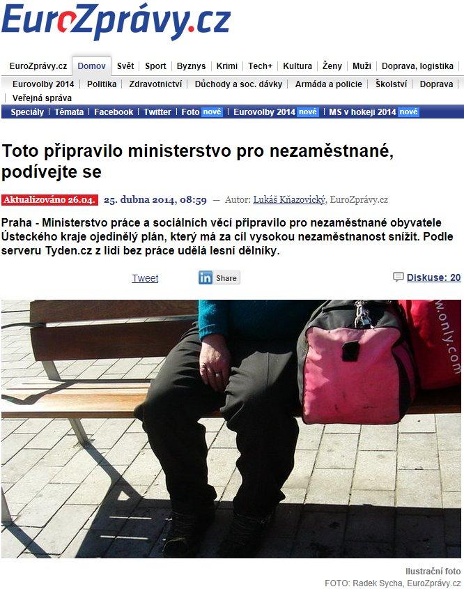 ministerstvo pro nezaměstnané